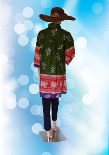 Batik Jumbo Hijau Belakang