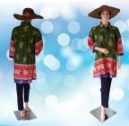 Blouse Batik Jumbo Hijau