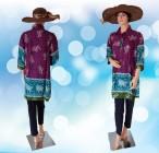 Blouse Batik Jumbo Ungu