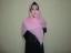 Hijab Kotak Mote Pink