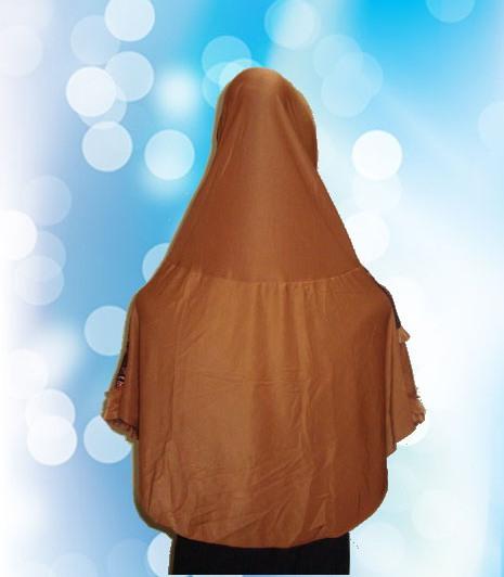 Hijab Instan Coklat Kunyit (BLK)