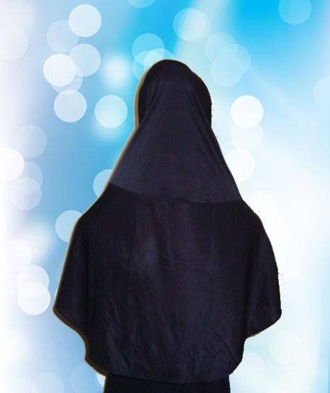 Hijab Instan Hitam (BLK)