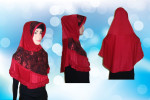 Hijab Instant ( Merah) – HI.M