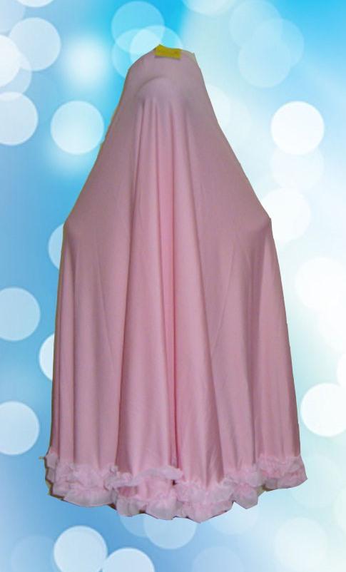 Hijab Instan Syari ( Belakang)