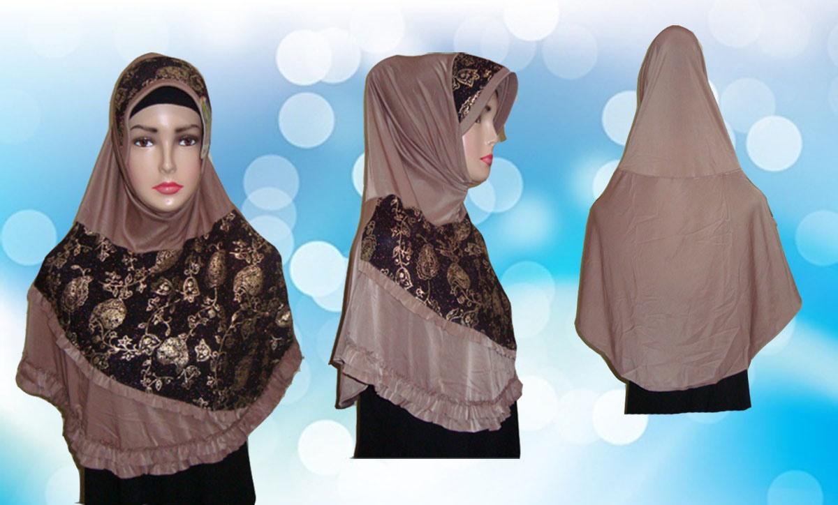 Hijab Instant Coklat