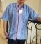 Kemeja Batik Biru Pink