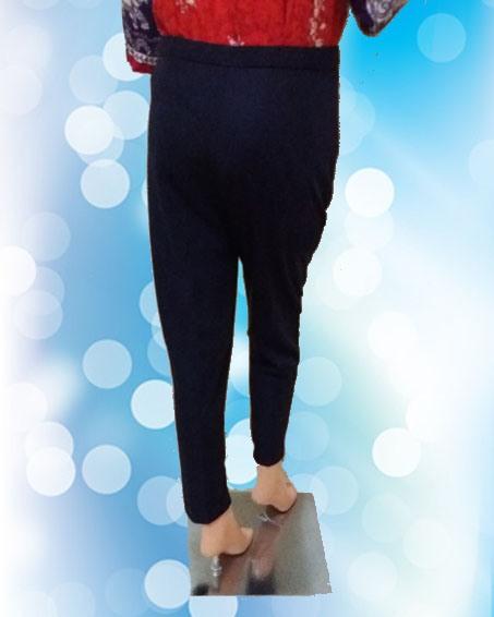 Celana Panjang Basic Ungu (Depan )