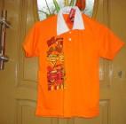 Kaos Berkerah Orange (Anak Laki)