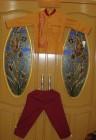Setelan Baju koko  Anak ( Kuning Kunyit )