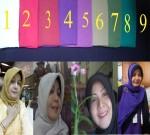 Hijab Paris  Kotak