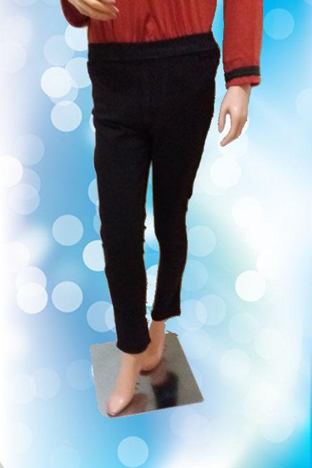Leging Jeans Coklat Tua (Depan )