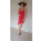 Handuk Mandi Merah