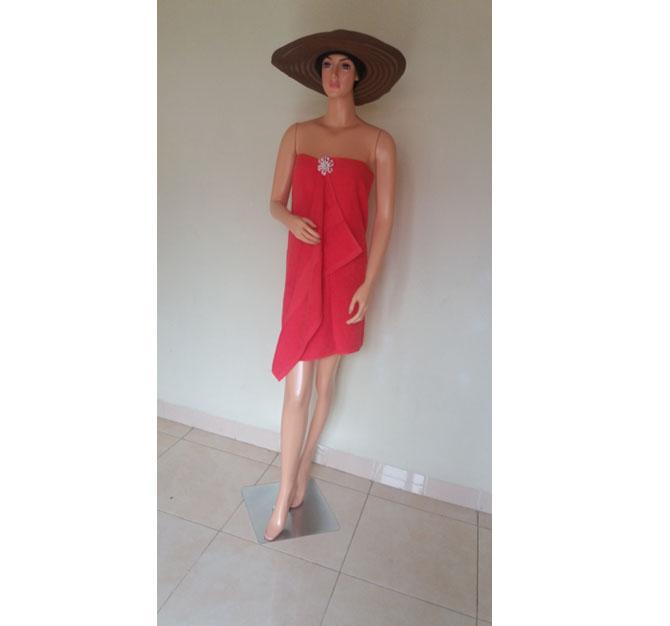 Handuk Merah Mandi