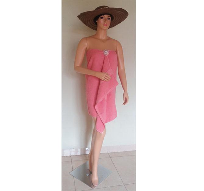 Handuk Pink Mandi