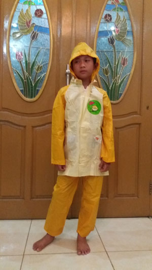 Jas Hujan Anak anak 1