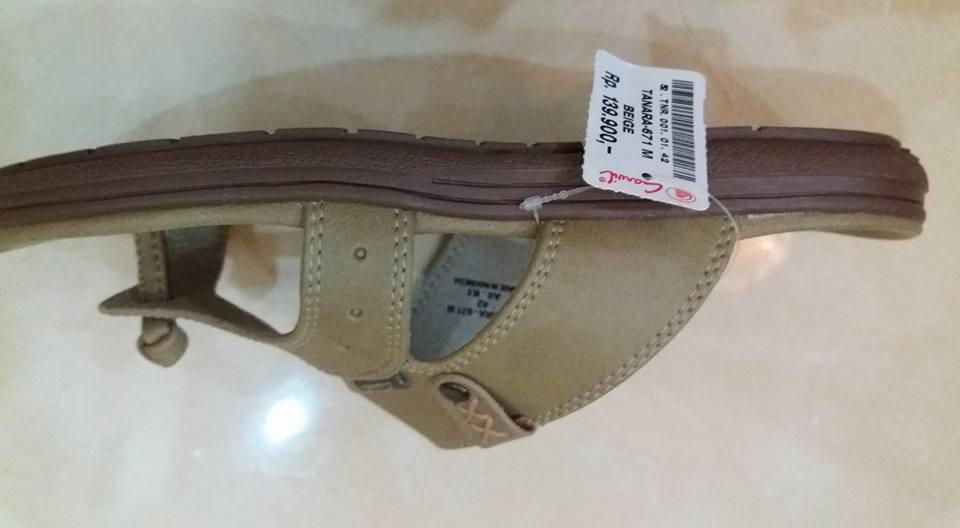 Copy of Sepatu Carvil Krem 2