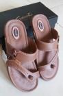 Sandal Pria Carvil ( Coklat / Stone )