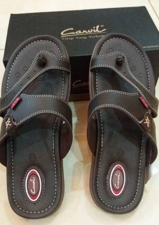 Sepatu Carvil Dark Brown 2
