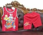 Kaos Anak Laki Warna Merah