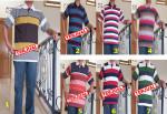 Baju Kaos Kerah Pria Dewasa Trendy 1