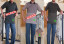 Baju Kaos Kerah Pria Dewasa Trendy 2