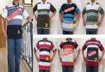 Baju Kaos Kerah Pria Dewasa Trendy 4