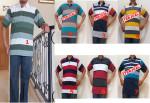 Baju Kaos Kerah Pria Dewasa Trendy 5