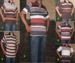 Baju Kaos Kerah Pria Dewasa Trendy 12  – M
