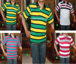 Baju Kaos Kerah Pria Dewasa Trendy 18  – L