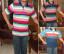 Baju Kaos Kerah Pria Dewasa Trendy 19  – M