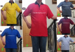 Baju Kaos Kerah Pria Dewasa FILO 22  – XL